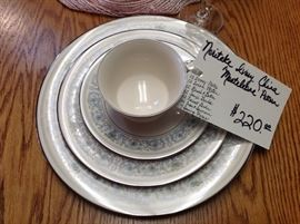 Gorgeous Noritake China.  Service for 12. In excellent condition
