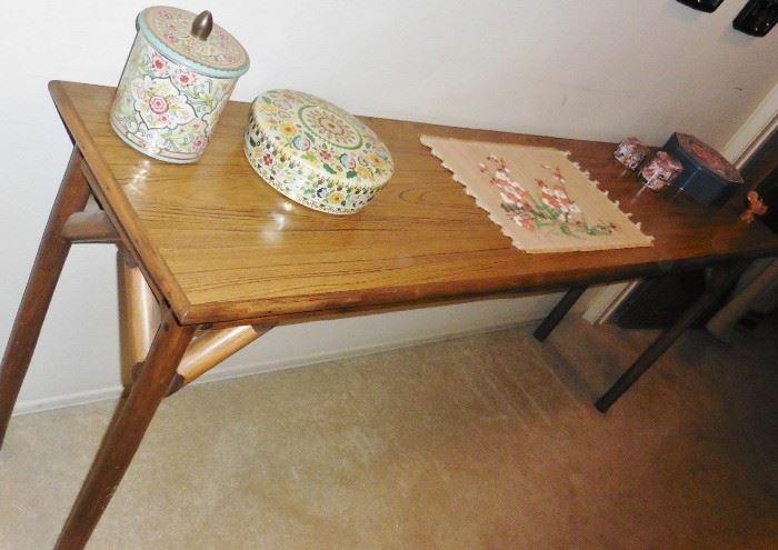 Long table, bambo