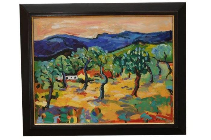 3. Jessie Mac Kay American Oil Painting