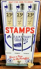 Stamp Machine with Key