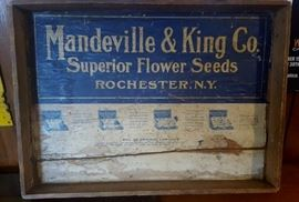 Mandeville & King Co Seed Advertising, Rochester, NY