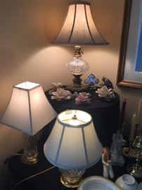 Waterford lamps
