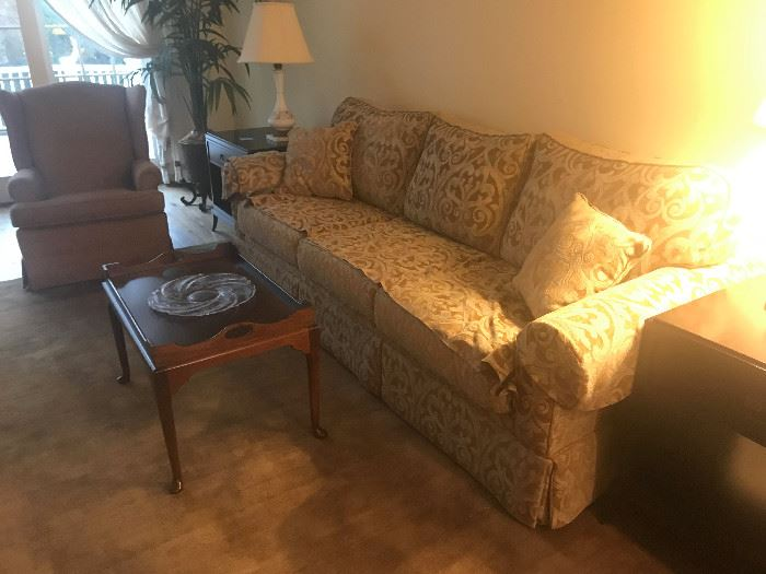 Sofa / Coffee Table / Chairs