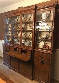 Antique Chippendale Breakfront