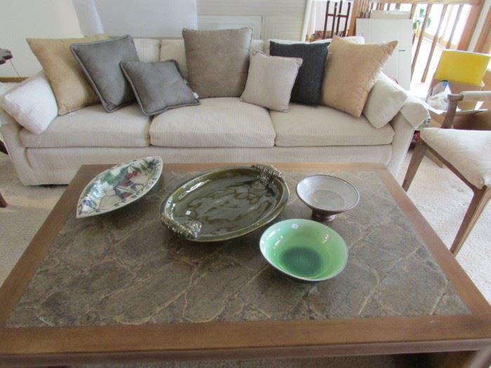 Baker 3 cushion Sofa