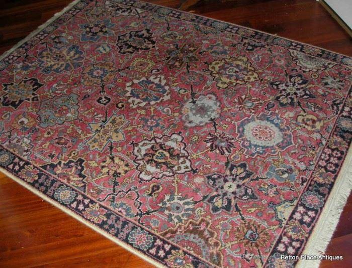 Karastan Floor Rug size 4ft 3in x 6 feet