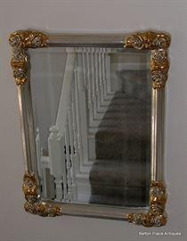 Contemporary beveled Mirror