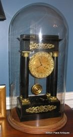 French Clock in working condition, very soft Chime