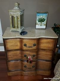 Modern Marble Top Chest Drawers
