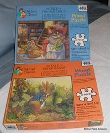 Two older Jigsaw puzzles