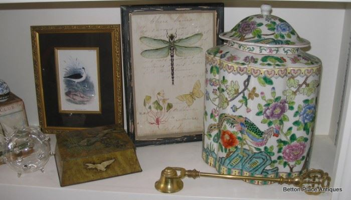 Collection of wonderful eclectic Smalls and Pots
