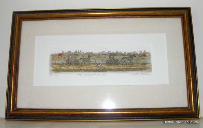 B Henson signed Print