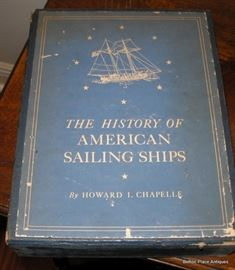 History Of American Sailing Ships/ Chapelle