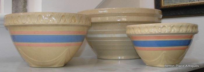 Antique McCoy Bowls