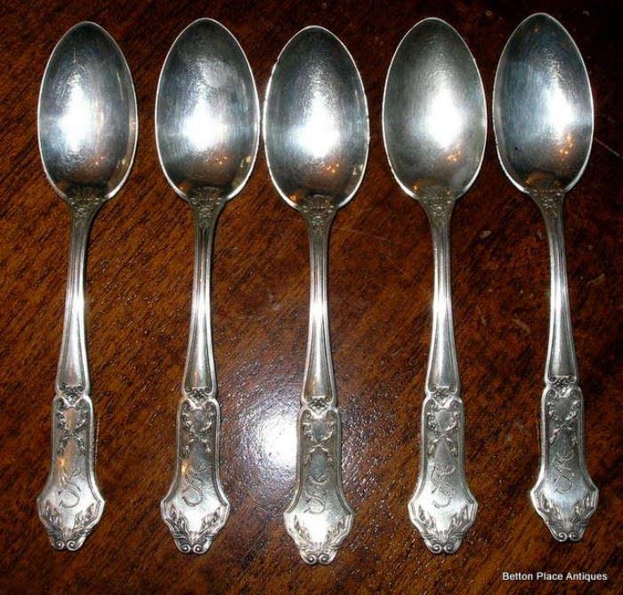 Misc Sterling Silver Teaspoons