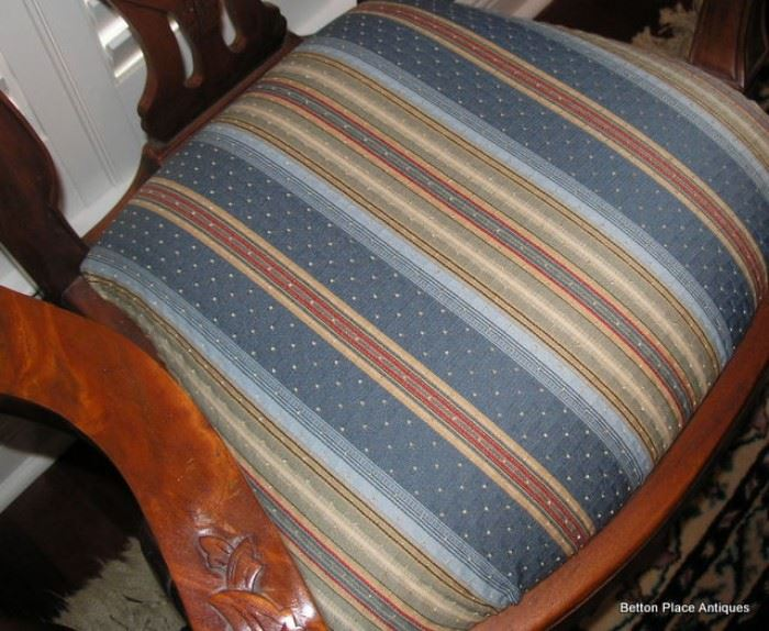 Seat covers on Dining Chairs