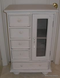 Small White Cupboard perfect for Bathroom