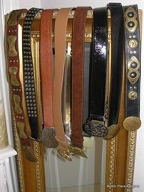 Just some of the Belts in this Sale including Michael Kors and more