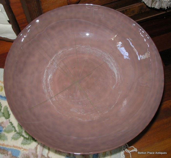 Murano Glass Large bowl