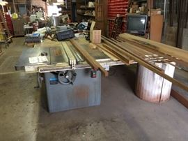Same Machine - different view. We will consider doing a pre-sale on this table saw. If you are interested contact us.