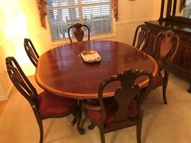 Ethan Allen Table and Chairs