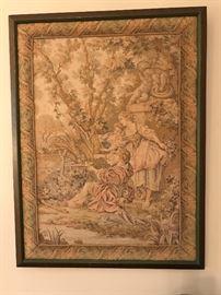 Tapestry framed