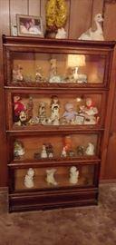 vintage lawyer's bookcase--great shape