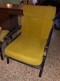 Bamboo framed chair