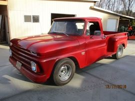 1966 Long bed with a built 454 with reserve