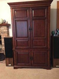 Entertainment Cabinet; Premium Advent-Brand Speakers