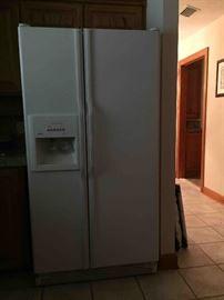 KitchenAid Side-by-Side Refrigerator, includes Original Manuals