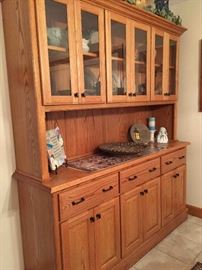 Handcrafted China Cabinet