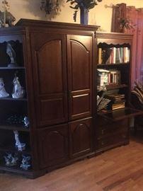Ethan Allen entertainment cabinet