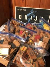Vintage/Antique wood toy blocks