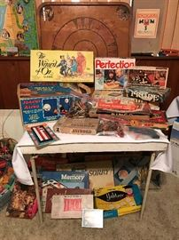 Vintage Games and Toys