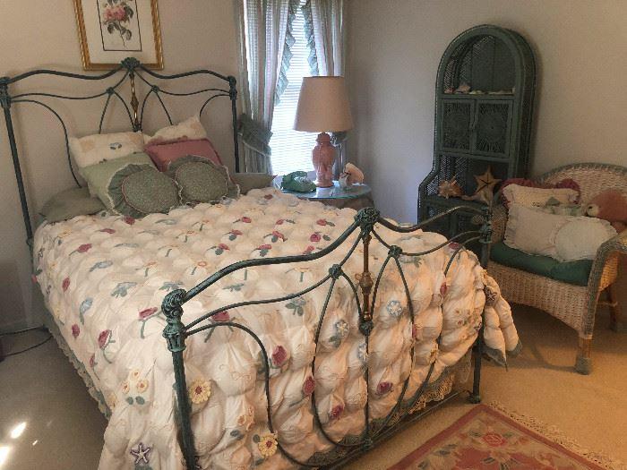 Stunning Iron Bed