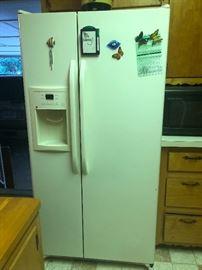 We have 2 refrigerators!