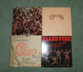 sample of some of the vintage albums