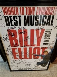 Signed by Cast