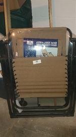 2-Extra large zero gravity chairs