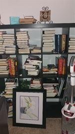 Books & storage cabinet