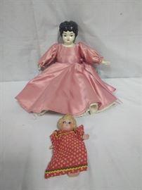 2 antique dolls , one made in Japan https://ctbids.com/#!/description/share/86511