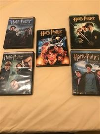 Harry Potter video's and books.