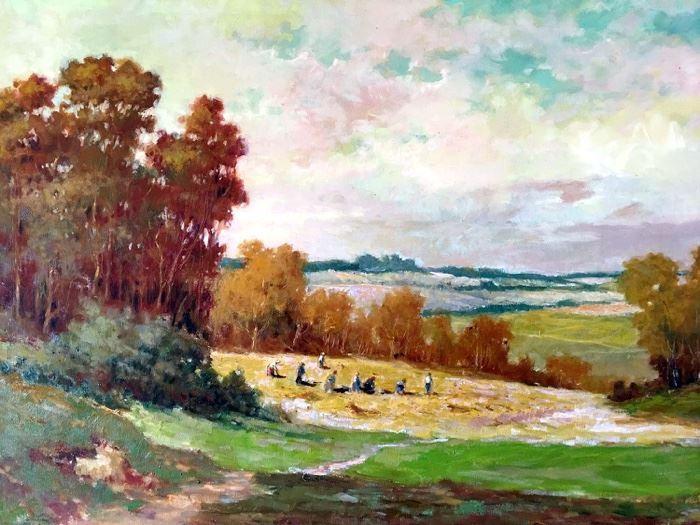 Vintage Fine Art Landscape - Artist Unknown