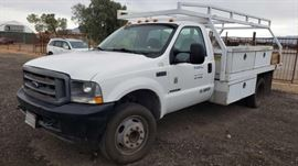 #30: 2003 Ford F-450 Powerstroke Diesel with Service Bed