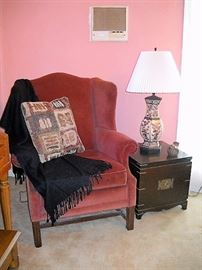 FEDERAL WING BACK CHAIR
