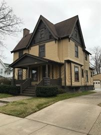 Sale venue is in this Historic, 1800's home on Lafayette Avenue. Home is for sale, too!