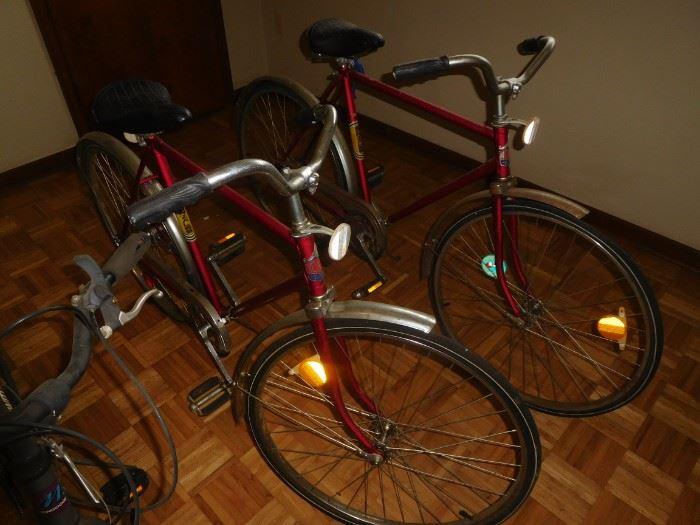 Pair of Vintage Noah bikes