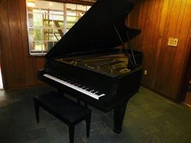 Vintage Knabe grand piano