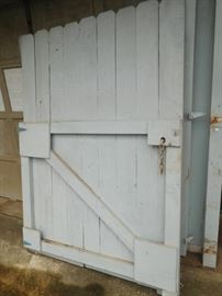 Pair of well made barn doors
